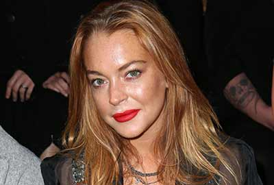 Lindsay Lohan Never out of the spotlight - for all the wrong reasons!